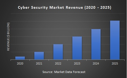 Global Cyber Security Market Size Analysis (2020 - 2025)